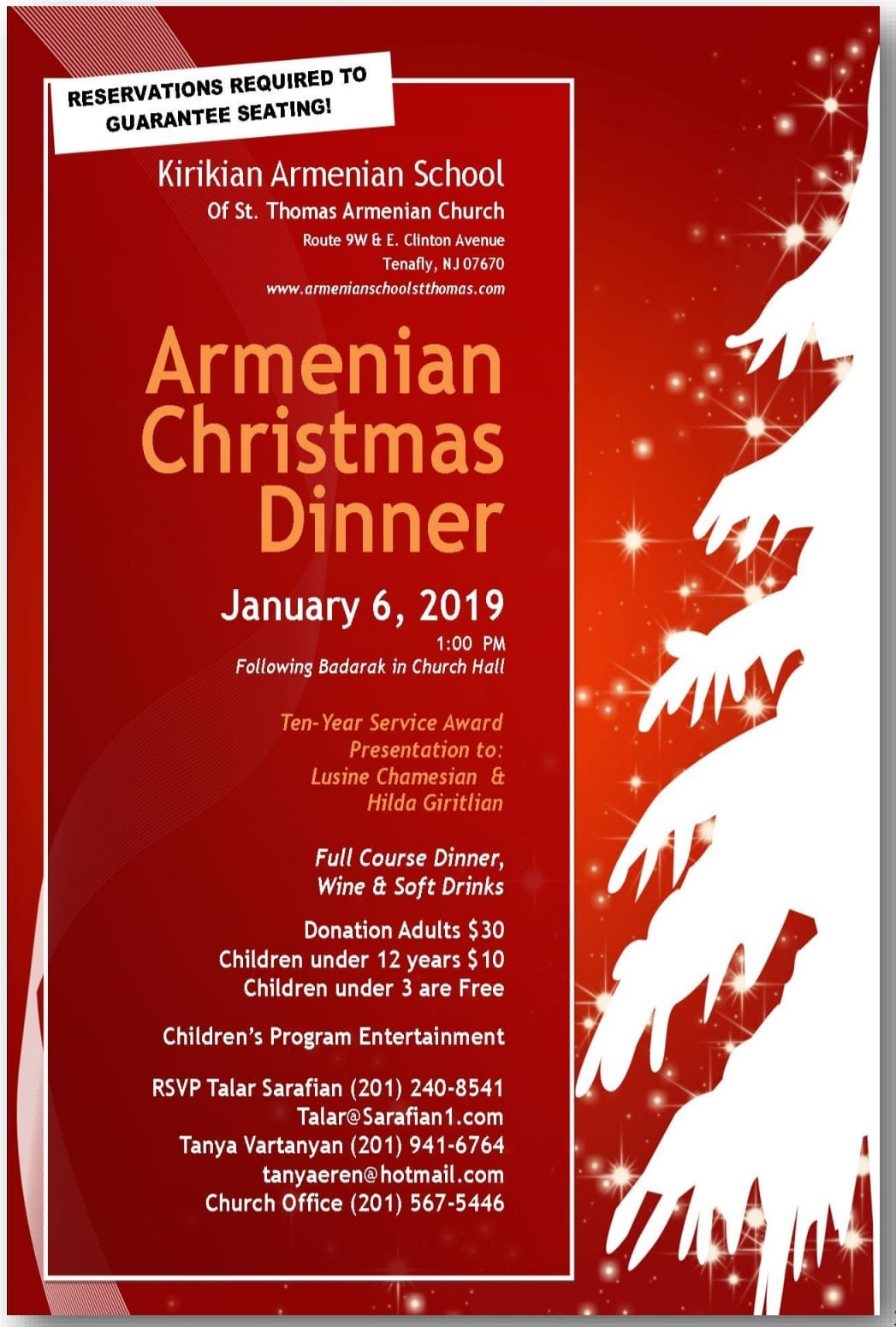 Armenian Christmas.Armenian Christmas Dinner St Thomas Armenian Apostolic Church